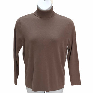 Primary Photo - BRAND: CHICOS STYLE: SWEATER LIGHTWEIGHT COLOR: BROWN SIZE: XL SKU: 293-29338-10915