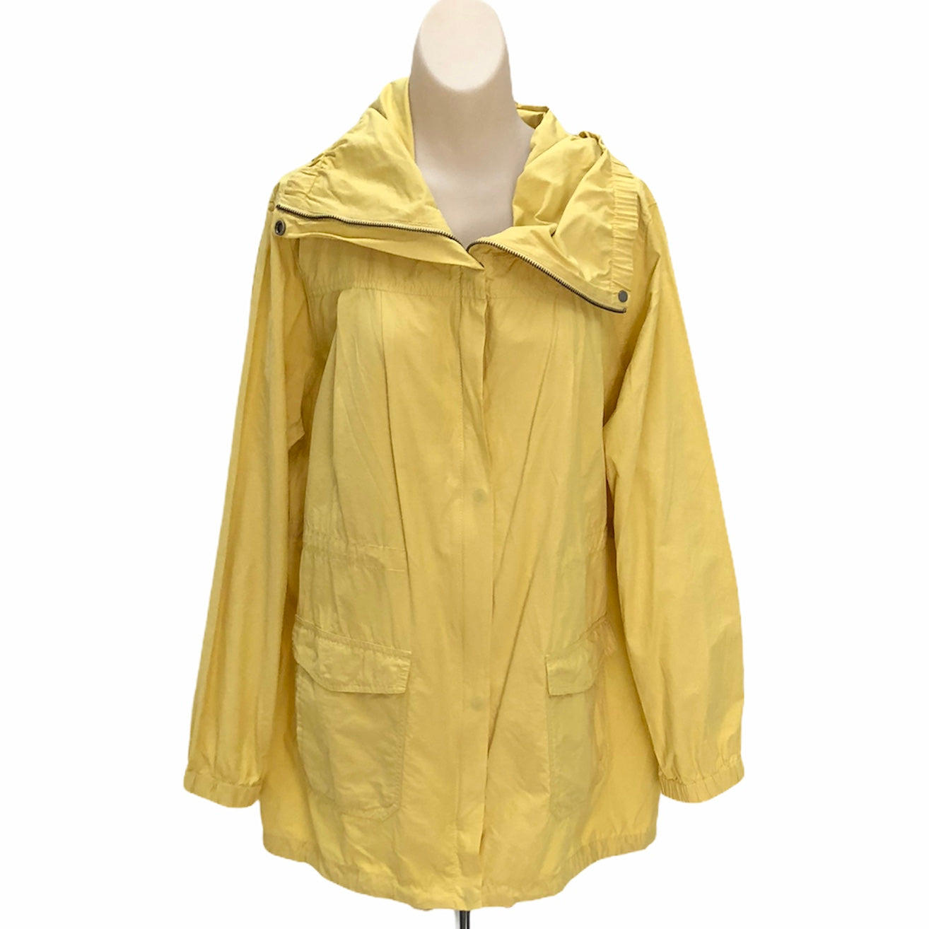 Primary Photo - BRAND: EILEEN FISHER <BR>STYLE: JACKET OUTDOOR <BR>COLOR: YELLOW <BR>SIZE: XL <BR>SKU: 293-29311-31015