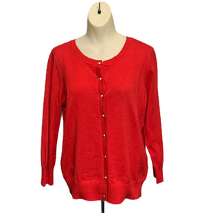 Primary Photo - BRAND: JOSEPH A STYLE: SWEATER CARDIGAN LIGHTWEIGHT COLOR: RED SIZE: L SKU: 293-29351-352
