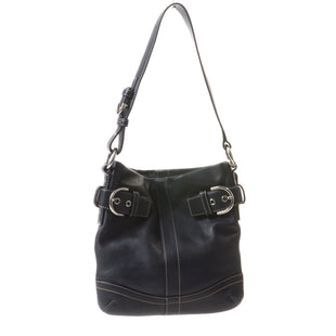 Primary Photo - BRAND: COACH STYLE: HANDBAG DESIGNER COLOR: BLACK SIZE: SMALL SKU: 293-29344-2488
