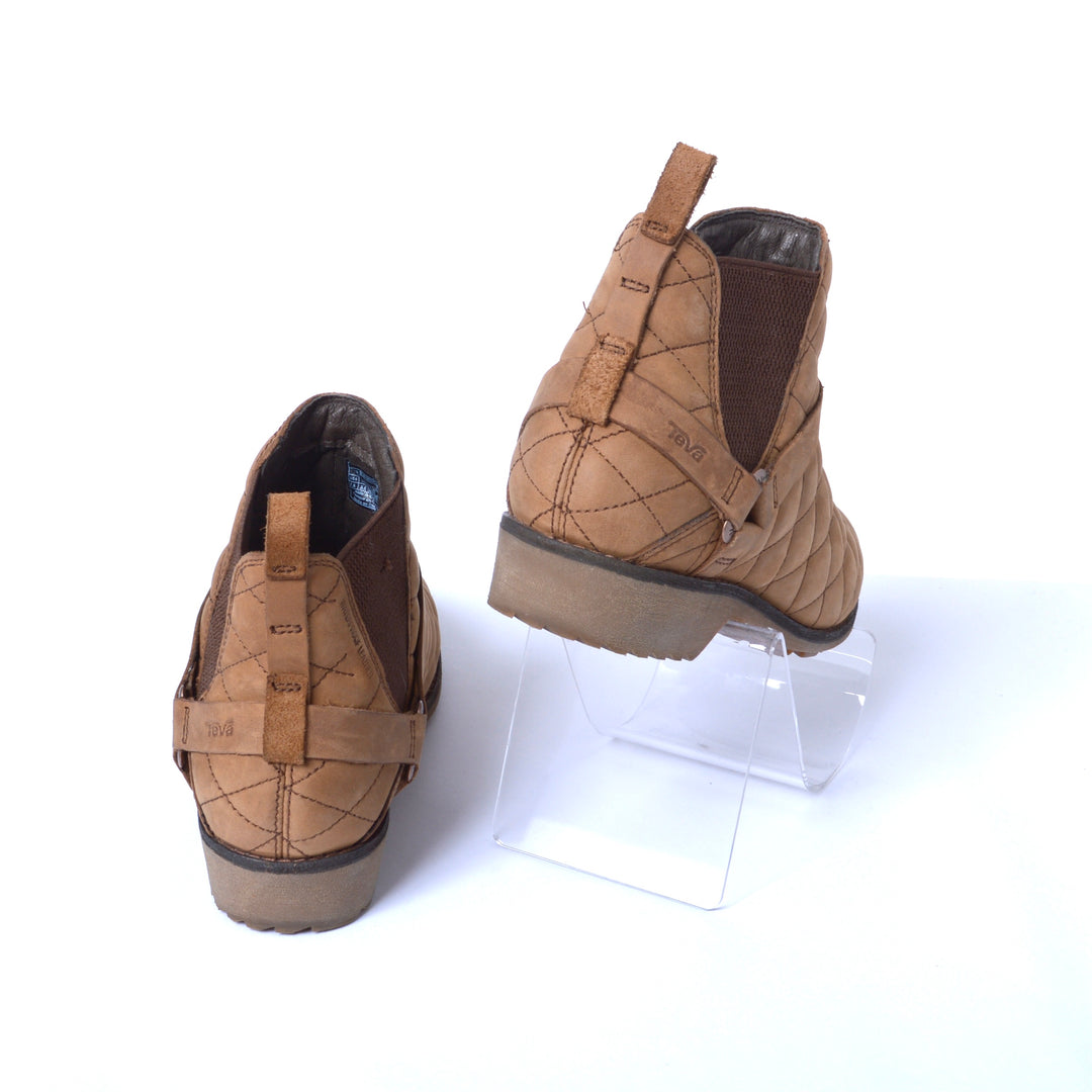 Photo #2 - BRAND: TEVA <BR>STYLE: BOOTS ANKLE <BR>COLOR: BROWN <BR>SIZE: 7.5 <BR>SKU: 293-29312-30814