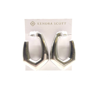 Primary Photo - BRAND: KENDRA SCOTT JEWLERY STYLE: EARRINGS COLOR: SILVER OTHER INFO: KAIA HOOPS SKU: 293-29311-34037