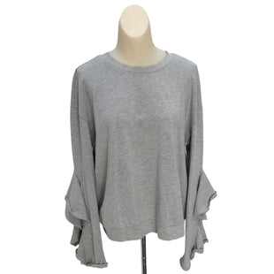 Primary Photo - BRAND: WHO WHAT WEAR STYLE: TOP LONG SLEEVE COLOR: GREY SIZE: L SKU: 293-29312-27687