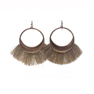 Primary Photo - BRAND:    CLOTHES MENTOR STYLE: EARRINGS COLOR: BEIGE SKU: 293-29338-11572
