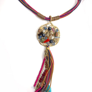 Primary Photo - BRAND:    CLOTHES MENTOR STYLE: NECKLACE COLOR: MULTI OTHER INFO: CM - STONES SKU: 293-29312-30494