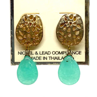 Primary Photo - BRAND: PANNEE STYLE: EARRINGS COLOR: GOLD OTHER INFO: TURQUOISE - SKU: 293-29311-35614