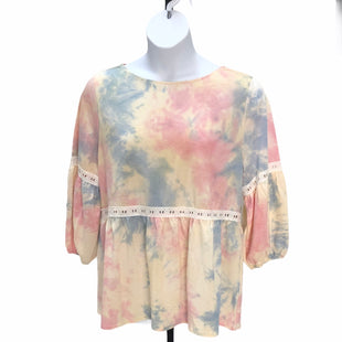 Primary Photo - BRAND:    CLOTHES MENTOR STYLE: TOP LONG SLEEVE COLOR: TIE DYE SIZE: 1X OTHER INFO: LUUKSE - SKU: 293-29311-30041