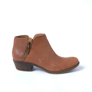 Primary Photo - BRAND: LUCKY BRAND STYLE: BOOTS ANKLE COLOR: BROWN SIZE: 6.5 SKU: 293-29312-30980