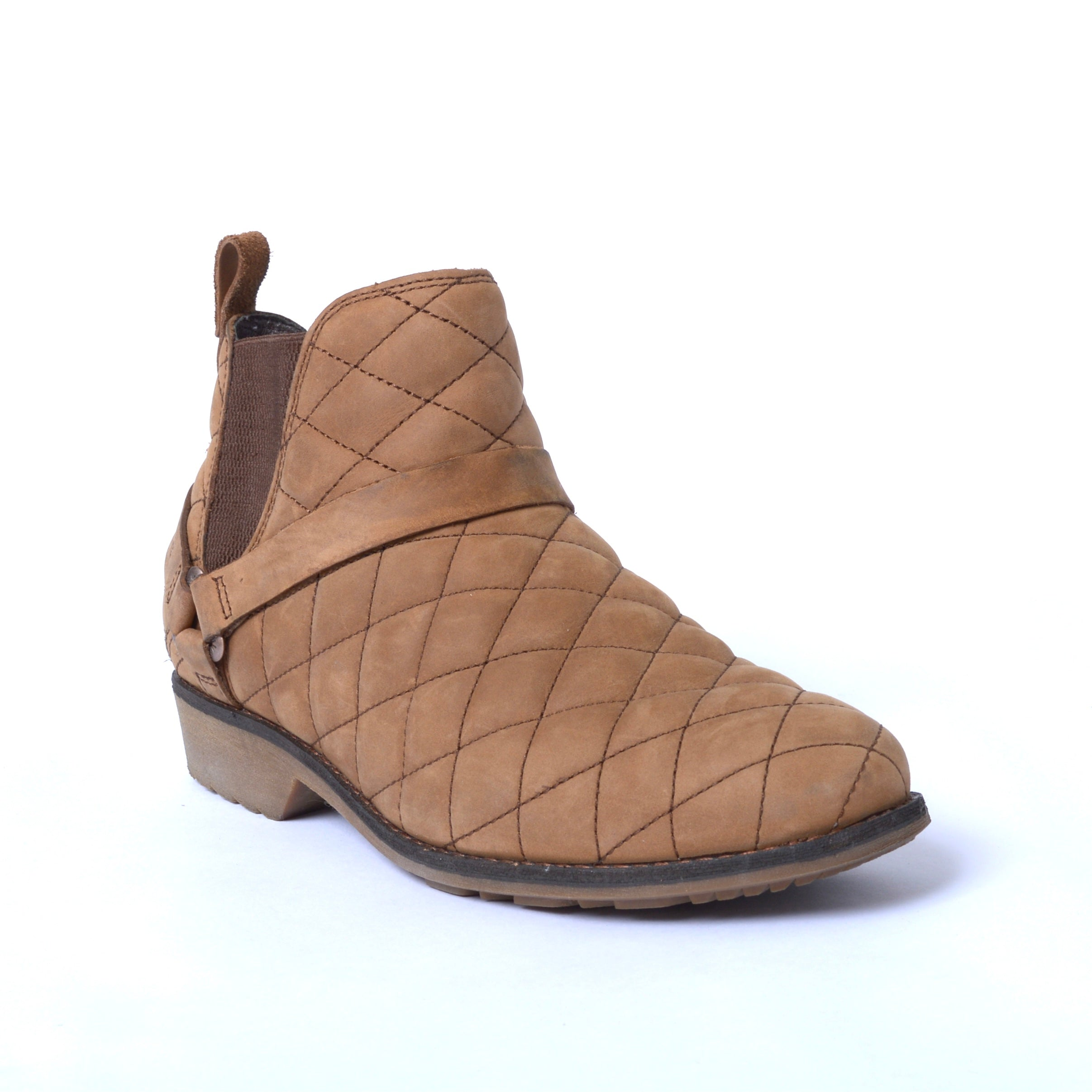 Photo #1 - BRAND: TEVA <BR>STYLE: BOOTS ANKLE <BR>COLOR: BROWN <BR>SIZE: 7.5 <BR>SKU: 293-29312-30814