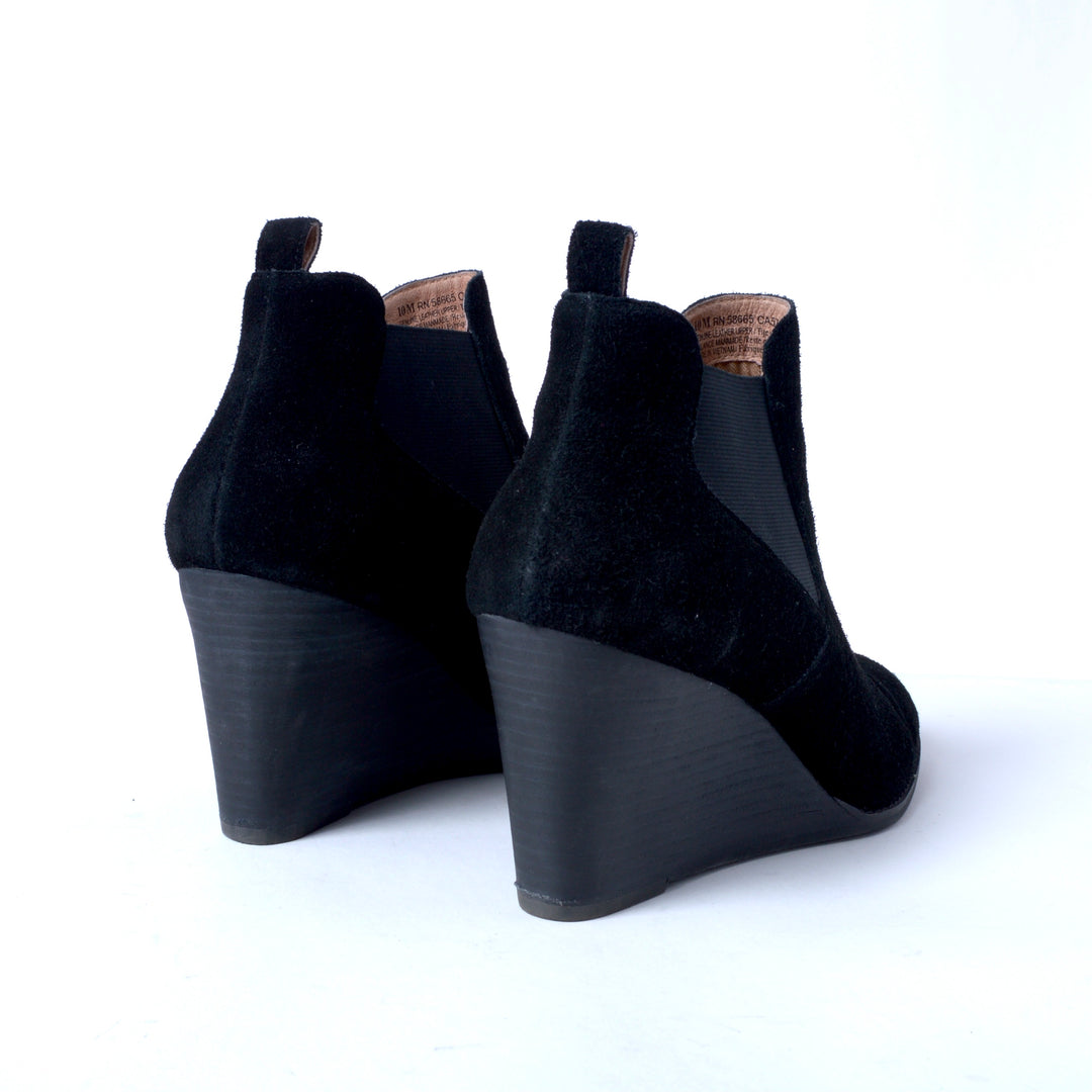 Photo #2 - BRAND: CASLON <BR>STYLE: BOOTS ANKLE <BR>COLOR: BLACK <BR>SIZE: 10 <BR>SKU: 293-29351-400