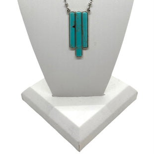 Primary Photo - BRAND: LUCKY BRAND STYLE: NECKLACE COLOR: TURQUOISE OTHER INFO: 3 STRIPES SKU: 293-29312-33620