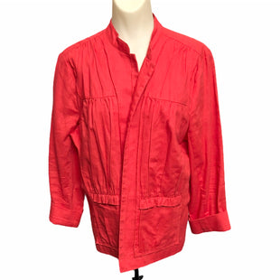 Primary Photo - BRAND: CHICOS STYLE: BLAZER JACKET COLOR: RED SIZE: L SKU: 293-29312-30779