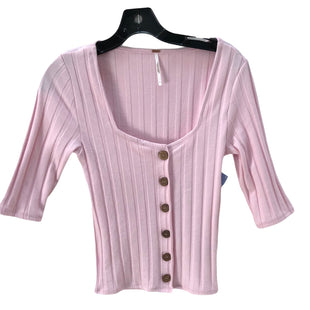 Primary Photo - BRAND: FREE PEOPLE STYLE: TOP LONG SLEEVE COLOR: LIGHT PINK SIZE: S SKU: 293-29312-27552