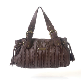 "Primary Photo - BRAND: ISABELLA FIORE STYLE: HANDBAG DESIGNER COLOR: BROWN SIZE: MEDIUM SKU: 293-29311-2910915.5""W X 7.5""H X 4.5""D"