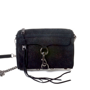 Primary Photo - BRAND: REBECCA MINKOFF STYLE: HANDBAG DESIGNER COLOR: BLACK SIZE: SMALL SKU: 293-29312-27189