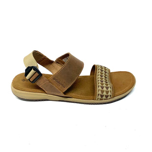Primary Photo - BRAND: COLUMBIA STYLE: SANDALS LOW COLOR: BROWN SIZE: 9 SKU: 293-29311-35166