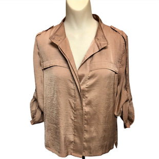 Primary Photo - BRAND: BCBGMAXAZRIA STYLE: TOP LONG SLEEVE COLOR: BROWN SIZE: M SKU: 293-29344-3819