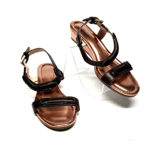 Primary Photo - BRAND: AMALFI STYLE: SANDALS LOW COLOR: BROWN SIZE: 6.5 SKU: 293-29312-32375