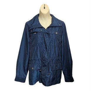 Primary Photo - BRAND: COLDWATER CREEK STYLE: JACKET OUTDOOR COLOR: NAVY SIZE: PETITE  MEDIUM SKU: 293-29351-462