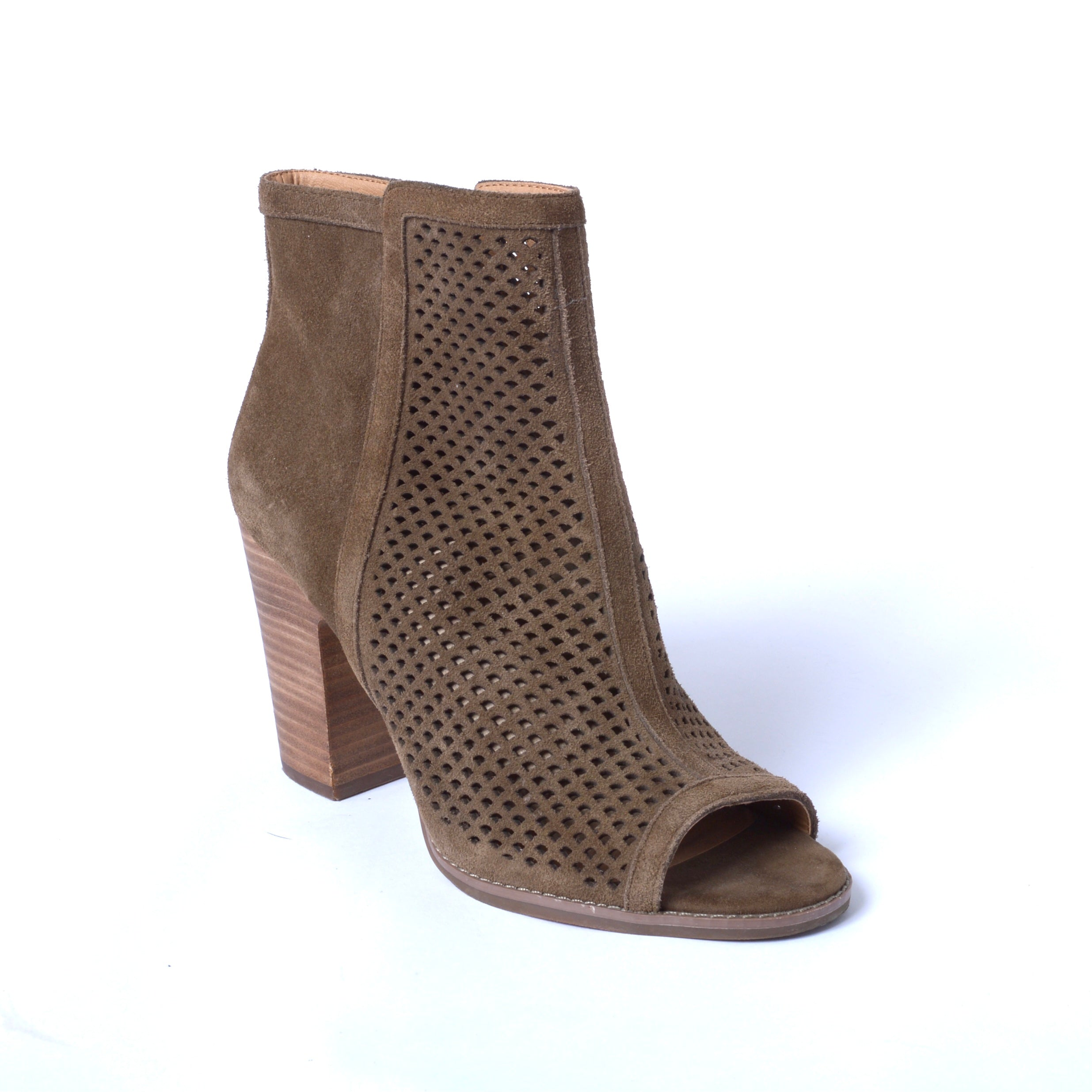 Photo #1 - BRAND: LUCKY BRAND <BR>STYLE: BOOTS ANKLE <BR>COLOR: TAUPE <BR>SIZE: 9 <BR>SKU: 293-29311-33617
