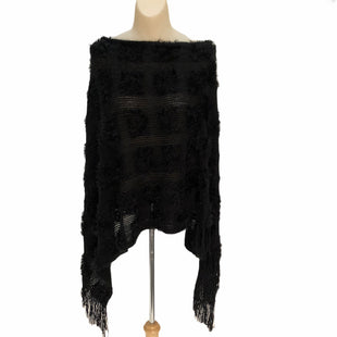Primary Photo - BRAND:    CLOTHES MENTOR STYLE: PONCHO COLOR: BLACK SIZE: ONESIZE OTHER INFO: CM - SKU: 293-29311-31662