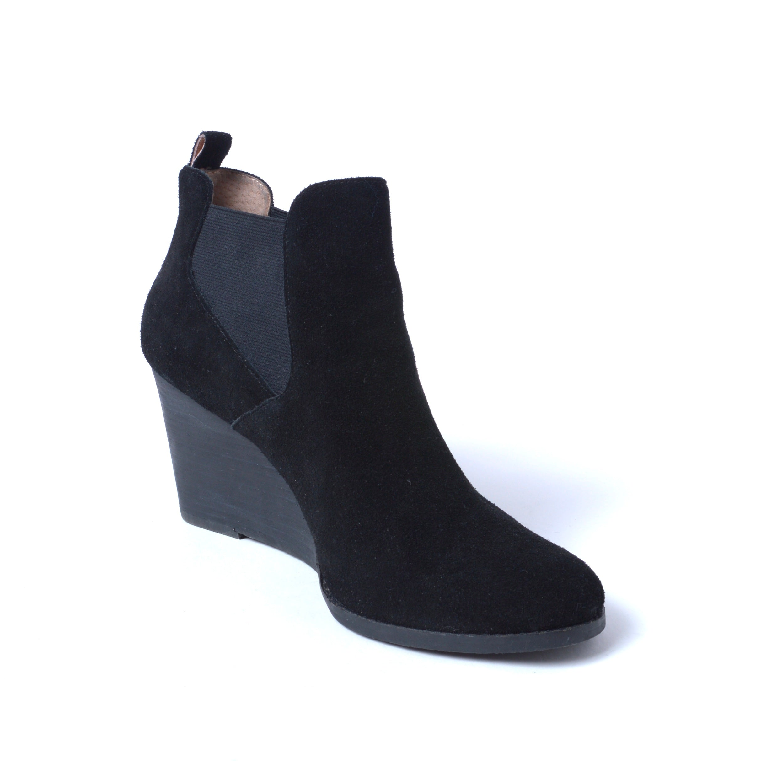 Photo #1 - BRAND: CASLON <BR>STYLE: BOOTS ANKLE <BR>COLOR: BLACK <BR>SIZE: 10 <BR>SKU: 293-29351-400