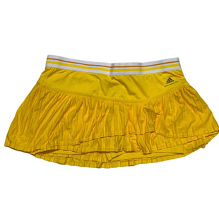 Primary Photo - BRAND: ADIDAS STYLE: ATHLETIC SKIRT SKORT COLOR: YELLOW SIZE: L OTHER INFO: STELLA MCCARTNEY SKU: 293-29311-33832