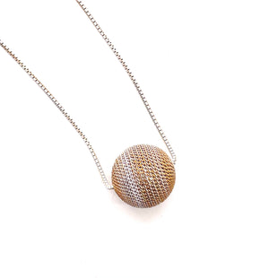Primary Photo - BRAND:  CMB STYLE: NECKLACE COLOR: GOLD OTHER INFO: GOLD/WHITE BALL - SKU: 293-29311-35737