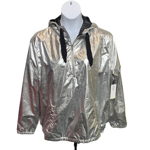 Primary Photo - BRAND: OLD NAVY STYLE: JACKET OUTDOOR COLOR: SILVER SIZE: XXL SKU: 293-29311-35252