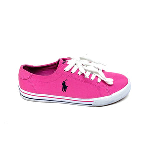 Primary Photo - BRAND: POLO RALPH LAUREN STYLE: SHOES ATHLETIC COLOR: PINK SIZE: 6 SKU: 293-29342-7048