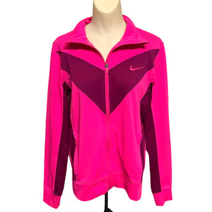 Primary Photo - BRAND: NIKE STYLE: ATHLETIC JACKET COLOR: PINK PURPLE SIZE: M SKU: 293-29312-30994