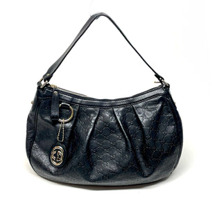 Primary Photo - BRAND: GUCCI STYLE: HANDBAG DESIGNER COLOR: BLACK SIZE: MEDIUM OTHER INFO: SUKEY HOBO SKU: 293-29338-11859