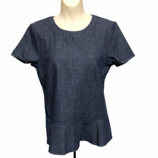 Primary Photo - BRAND: BANANA REPUBLIC STYLE: TOP SHORT SLEEVE COLOR: DENIM SIZE: S SKU: 293-29312-30904