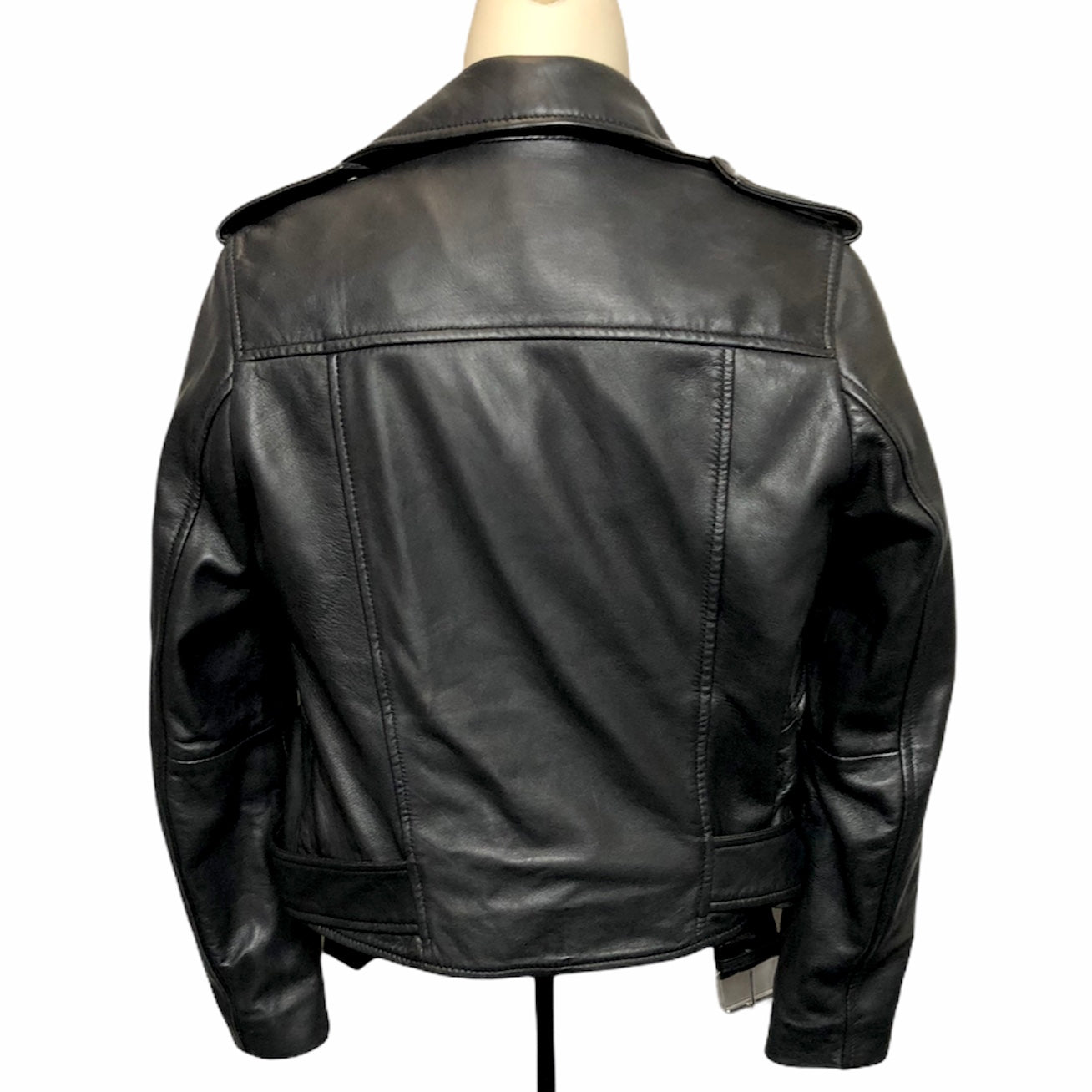 Photo #1 - BRAND:  CMA <BR>STYLE: JACKET LEATHER <BR>COLOR: BLACK <BR>SIZE: XS <BR>OTHER INFO: WALTER BAKER - <BR>SKU: 293-29312-30921