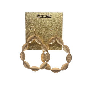 Earrings By Natasha - BRAND:    CLOTHES MENTOR STYLE: EARRINGS OTHER INFO: SKU: 293-29311-33953