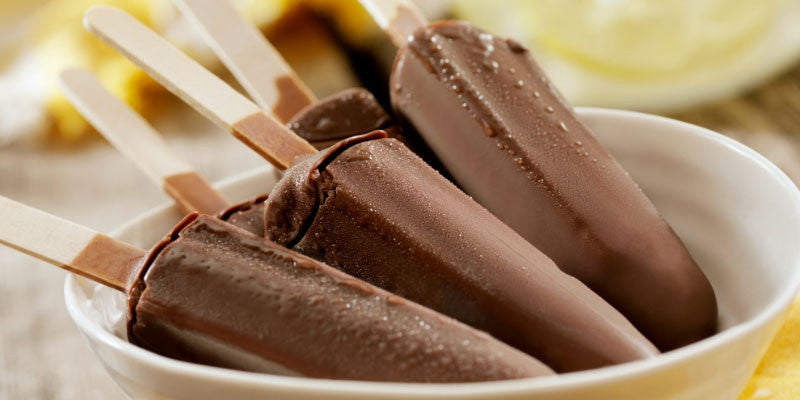 Chocolate Peanut Butter Ultrashake-Popsicles
