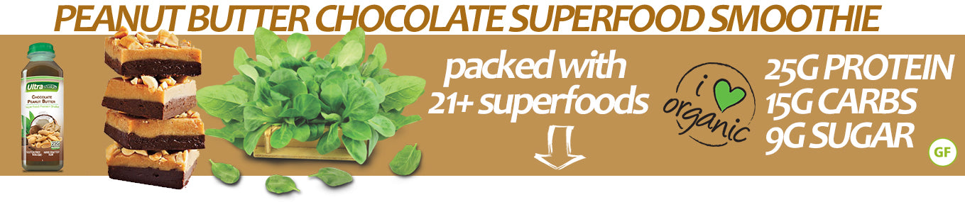 Peanut Butter Chocolate Superfood Ingredients