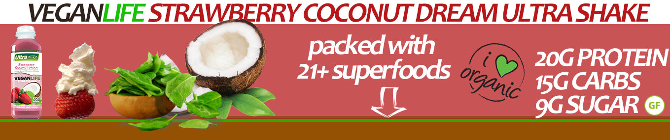 VeganLife Chocolate Coconut Superfood Ingredients