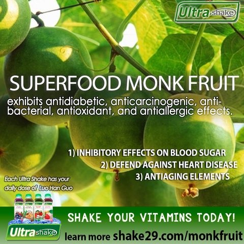 Monk Fruit | Luo Han Sweetner Benefits in Ultra Shake