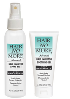 Hair No More Soothing Gel and Spray Mist Inhibitors