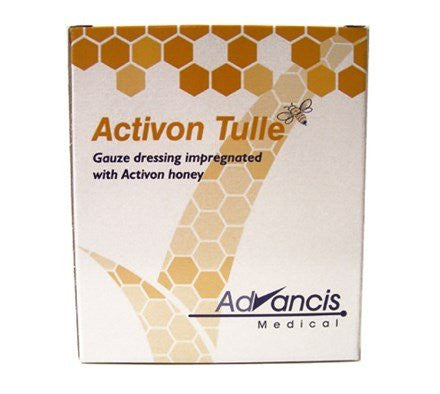Activon Tulle Wound Dressing with 100% Manuka Honey
