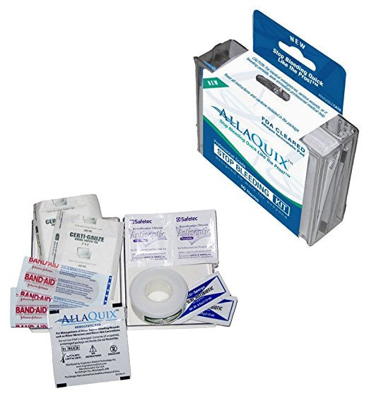 AllaQuix Stop Bleeding Starter Kit - AllaQuix™ - Stop Bleeding Quick Like the Pros!