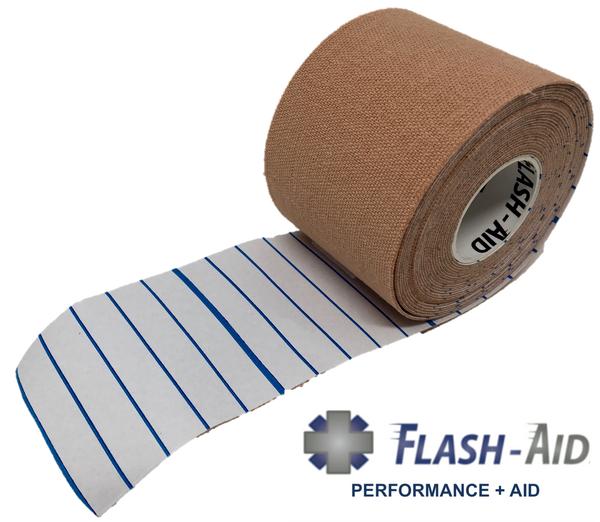 Kinesiology Tape (4-Pack) • Latex-Free (2 in. wide by 16 ft. long) - AllaQuix™ - Stop Bleeding Quick Like the Pros!