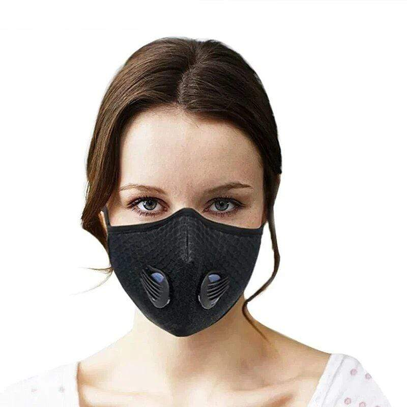 UVCleanHealth 5 Layer Activated Carbon Mask Filter Replacement Best UVC Sanitizer Sterilizer PPE UV-C Kills Germs Viruses Bacteria Mold