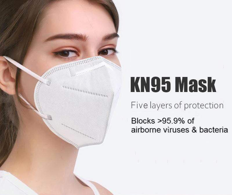 UVCleanHealth KN95 (10pcs set) - FDA Registered Best UVC Sanitizer Sterilizer PPE UV-C Kills Germs Viruses Bacteria Mold