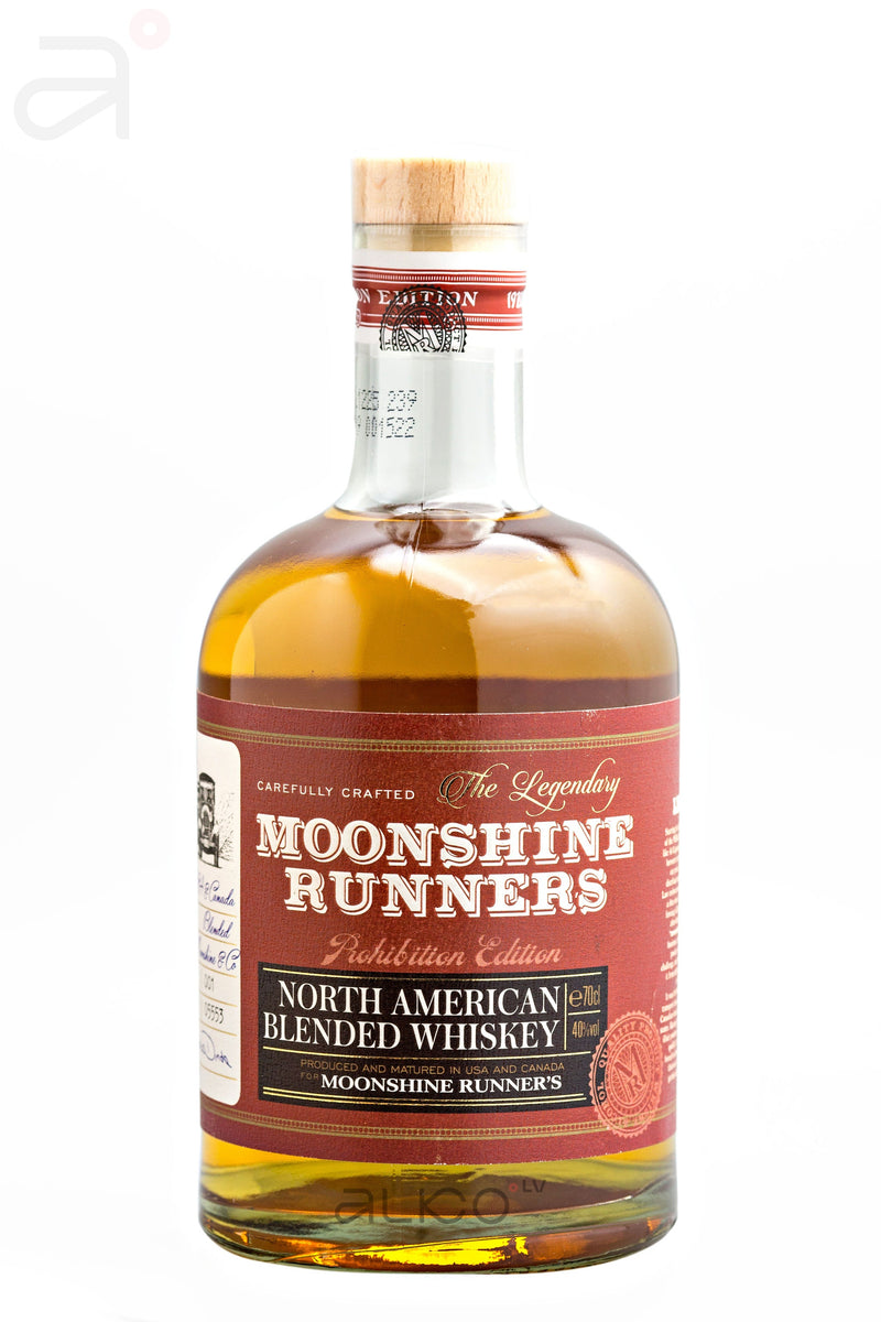 Moonshine Runners The Legendary Blended American Bourbon Whisky 40% 0.7L