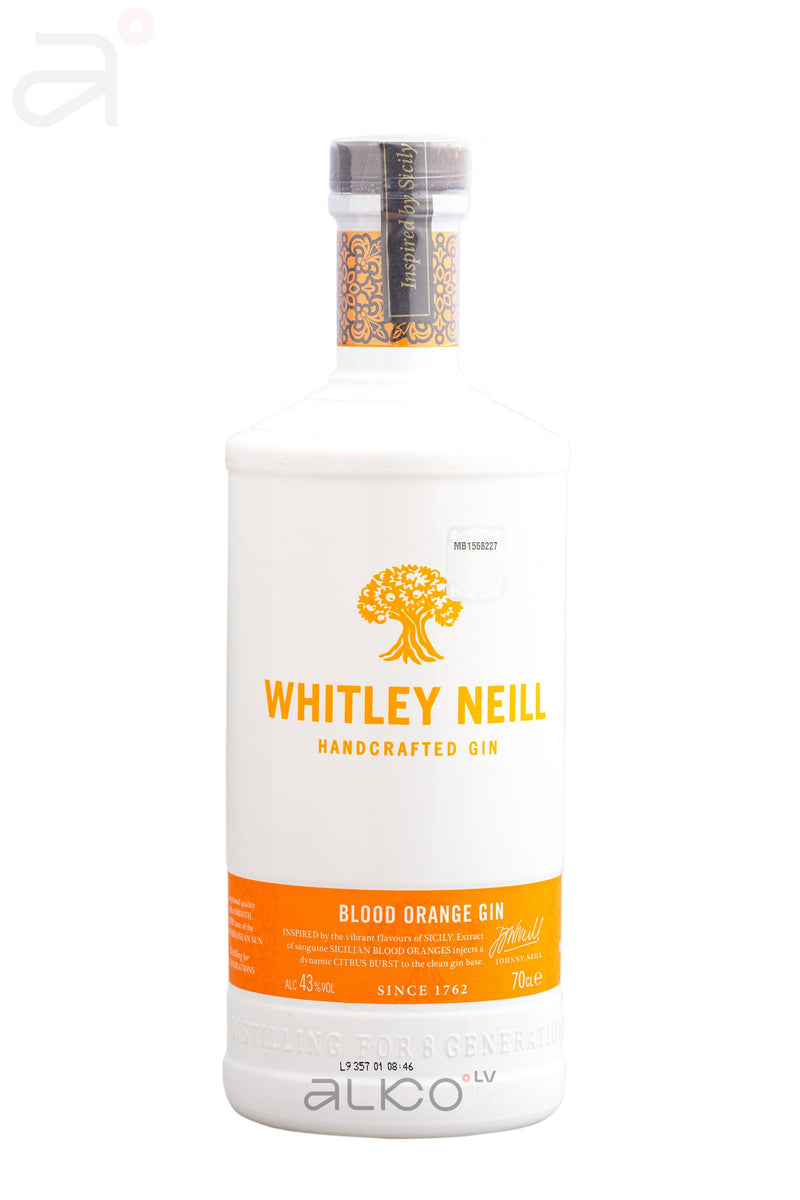 Whitley Neill Blood Orange Gin 43% 0.7L
