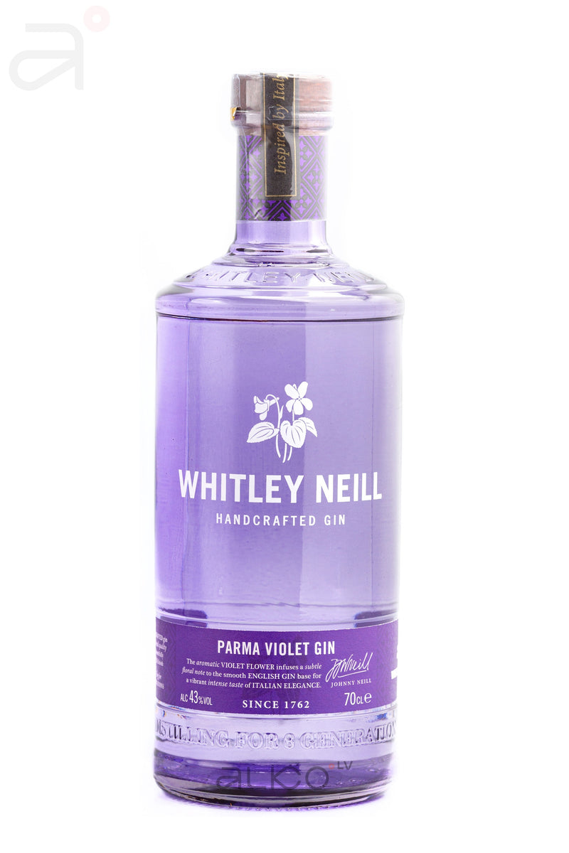 Whitley Neill Parma Violet Gin 43% 0.7L