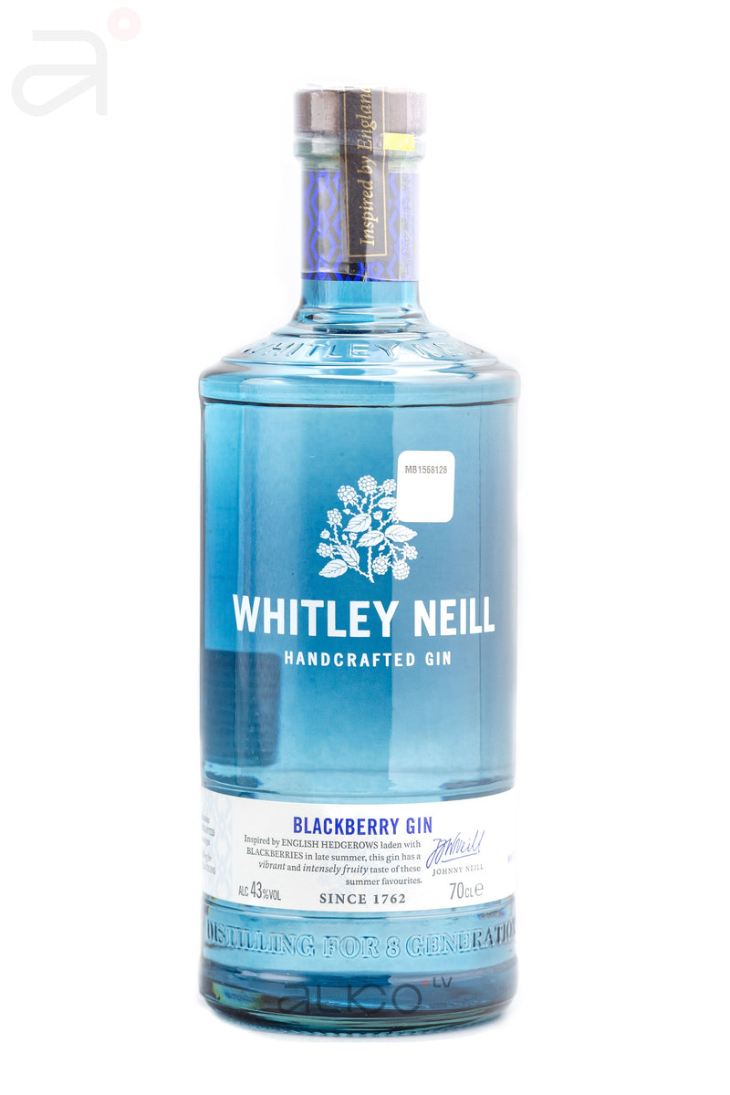 Whitley Neill Blackberry Gin 43% 0.7L