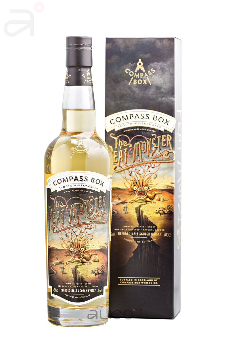 Compass Box The Peat Monster 46% 0.7L